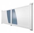 Fabrication portail Aluminium coulissant et à battant - Fabricant fermetures charente